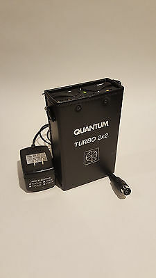 Quantum 2x2 Turbo Battery pack w/ Charger - Charged and Ready to ship