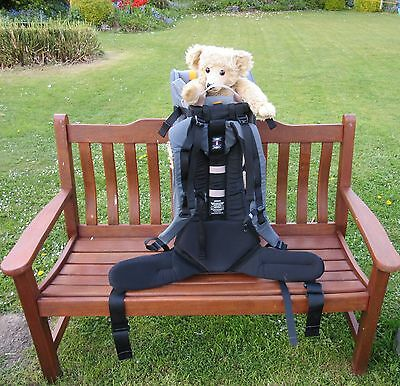 BushBaby Lite Backpack Baby Carrier - FREE P&P - 6mths to 3yrs - Good Condition