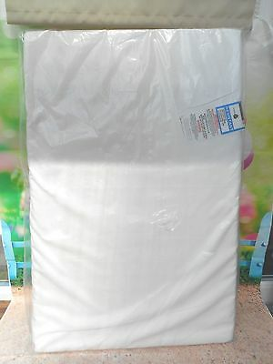 baby/toddler travel cot mattress new in pack - 59x90cm
