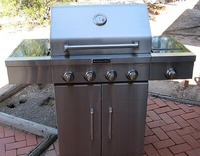 KITCHENAID STAINLESS STEEL 4+ Burner Gas Grill - $175.00 ...