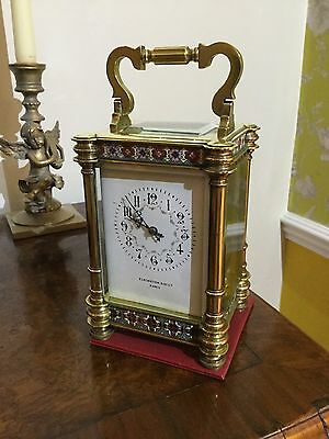 Fine Quality Large Victorian French Striking carriage clock