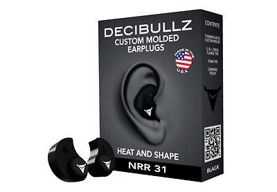 Custom Moulded Earplugs Re-Moldable Shooting Work Sleep Noise Cancellation Foam