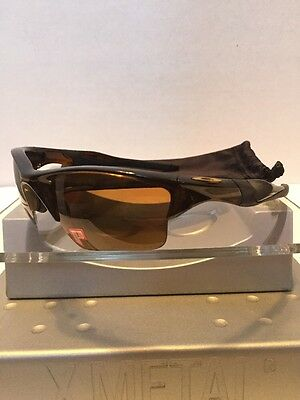!!!Oakley Half Jacket 2.0 Rootbeer Brown Polarized Gold Lenses Fast Free S/H!!!