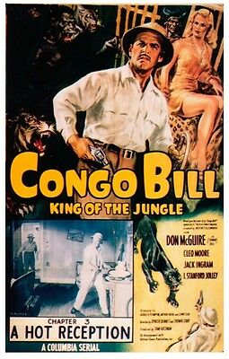 Congo Bill - Classic Movie Cliffhanger Serial DVD Don McGuire