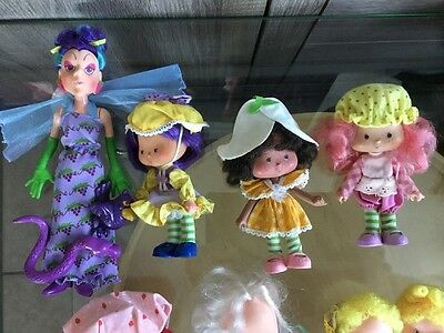 Vintage Lot  Strawberry Shortcake Dolls M