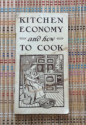 Kitchen Economy & How to Cook:1906 Cookbook, Advertising Indiana Steel Range Co