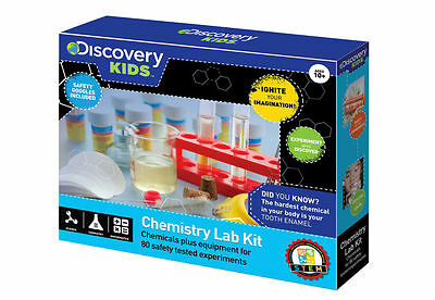 Chemistry Lab Kit 80 Experiments by Discovery Kids