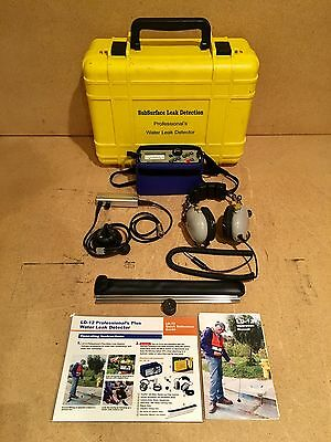 SubSurface Leak Detection LD-12 Professional's Plus Water Leak Detector LD12