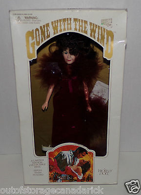 1989 Gone With The Wind Scarlett Limited Edition Collectible World Doll - NEW