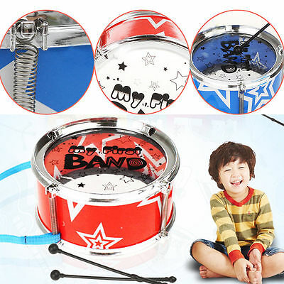 Mini Jazz Drum Band Rock Set Children Kid Toddler Music Play Toy Early Learning