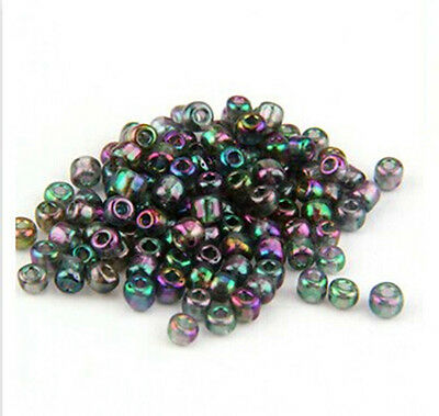 1000 pcs 2mm czech glass seed spacer beads jewelry making DIY  A018