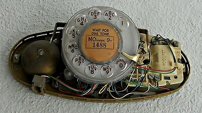 Vintage Bell Princess Rotary Telephone Guts (Working)