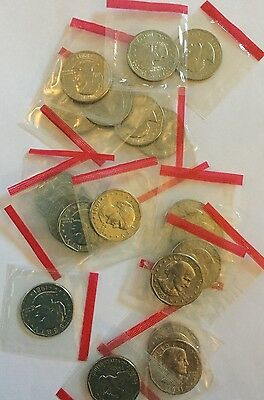 1981 - D Susan B Anthony SBA Dollar Roll (20 Coins) Cello Wrapped