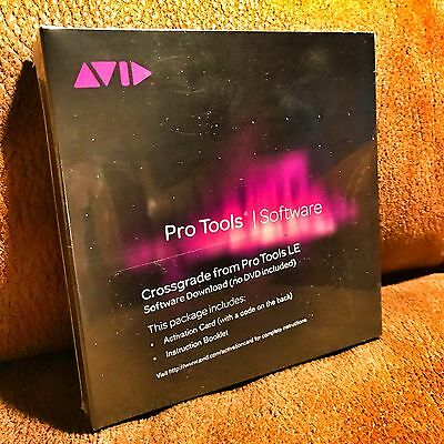 Avid Pro Tools - LE Crossgrade to Pro Tools 10/11/12 w/1 yr Support & Upgrades !