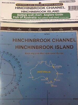 Camtas Marine Safety Chart Hinchinbrook Channel And Hinchinbrook Islands