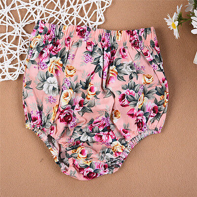 Infant Floral Boys Girls Baby Bottoms Trousers Summer Bloomers PP Pants Panties