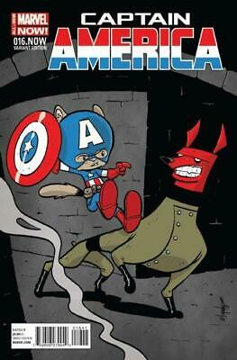 Captain America #16.NOW (Vol 7) Eliopoulos Variant Cover by Nic Klein