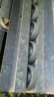 Conveyor Rollers on Track 4750mm length $18 EACH
