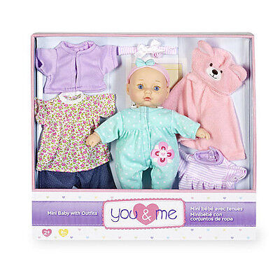 You & Me 8 Mini Baby With Fashion - NEW