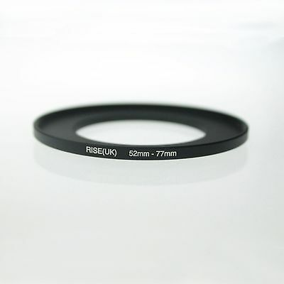 RISE(UK) 52-77 52-77mm  52mm-77mm Matel Step Up Ring Filter Camera Adapter