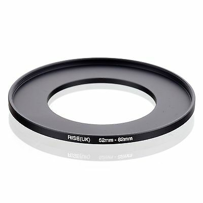 RISE(UK) 52-82 52-82mm  52mm-82mm Matel Step Up Ring Filter Camera Adapter
