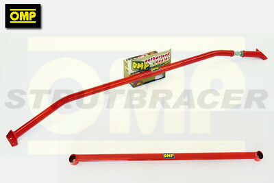 OMP FRONT UPPER & LOWER STRUT BRACE FIAT 500 1.4 TURBO inc ABARTH