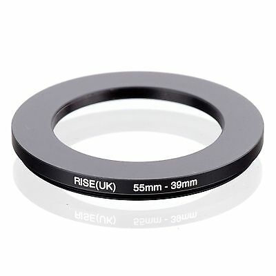 RISE(UK) 55-39 55-39MM 55MM-39MM Matel Step Down  Ring Filter Camera Adapter