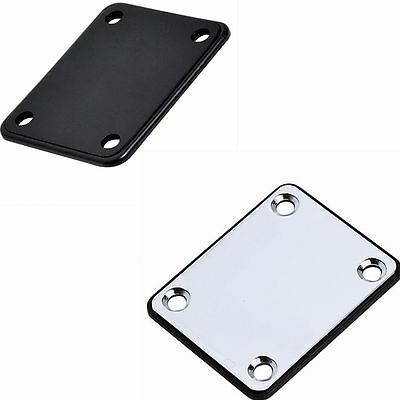 Durable Useful Neck Plate Four Mounting Screws Electric Guitar High Quality
