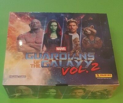 Panini Guardians of the Galaxy Vol.2 Trading Cards - 1 Display - 24 Booster