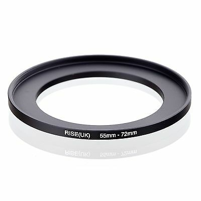 RISE(UK) 55-72 55-72mm 55mm-72mm Matel Step Up  Ring Filter Adapter
