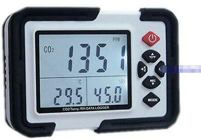Carbon Dioxide Detector With Humiture HT2000 CO2 Gas Detector Professional-New