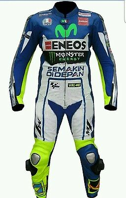 Yamaha Rossi Motogp 2016 Motorbike 1Pc Suit - Ce Approved Full Protection