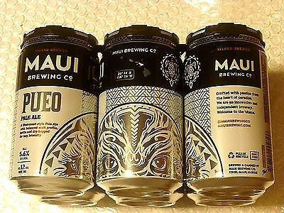 NEW RELEASE ~ EMPTY MAUI BREWING PUEO PALE ALE Craft Beer 12oz Can Hawaii