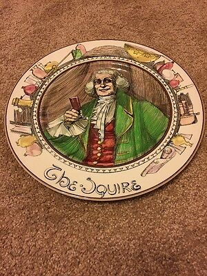 "Royal Doulton China ""The Squire"" D.6284"