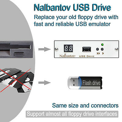 Nalbantov USB Floppy Disk Drive Emulator for Okuma LU-25