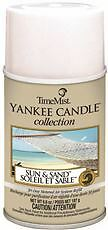 Timemist Yankee Candle Collection, Air Freshener, Metered Refill, Sun And Sand,