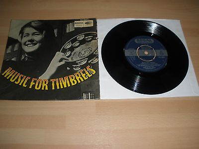 """Music For Timbrels 7"""" Vinyl P/s Staff Band Salvation Army Regal Zonophone Ex """""""