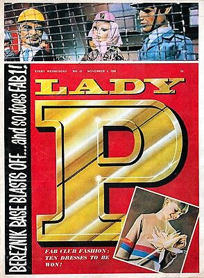 1960's LADY PENELOPE COMIC COLLECTION  73 ISSUES 6 ANNUALS & 1 SPECIAL dvd disc