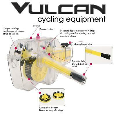 Vulcan 3D BIKE BICYCLE CHAIN CLEANER  VCC