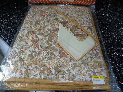 Marks & Spencer Harvest Quilted Placemats With Napkins X 2 - New Unused