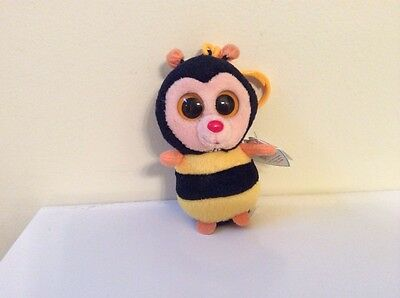 TY BEANIE BOO STING the Bumble Bee Key Clip Solid Eyes MWMT -  18.99 ... 22ea979f754b