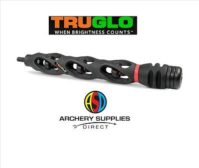 "TRUGLO CARBON XS 9"" Stabiliser adjustable weight with sling Compound Archery"