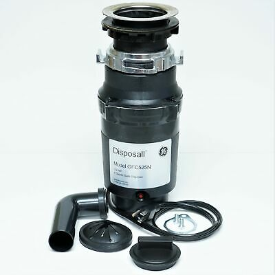 GFC525V GE Disposall Garbage Food Waste Disposer 1/2 HP With Cord