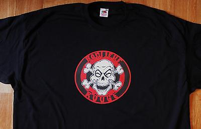 T-Shirt BANLIEUE ROUGE (Rock alternatif Punk)