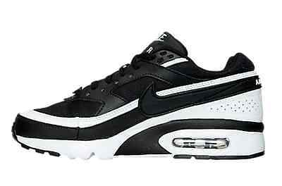 nike Air Max BW GS SNEAKERS GRADE SCHOOL BLACK/WHITE US GS SIZES 820344-