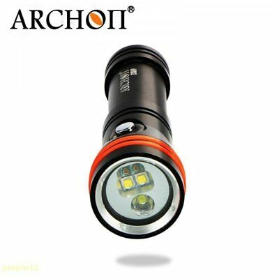 Archon D15VP Cree XM-L2 2in1 Diving Video Spot White+RED LED Torch