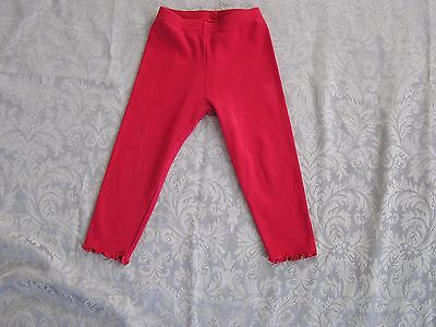Gymboree Girl's Red Cotton Tights Size 3T