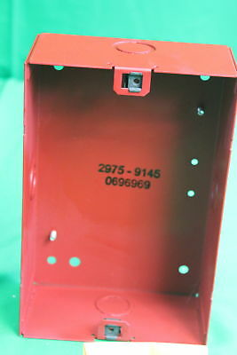 Simplex Fire Alarm Mounting Red Back Box ASY A/V 2975-9145