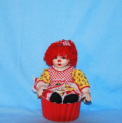 """Marie Osmond Cherry Muffin Doll From The """"rag-A-Muffin"""" Collection Numbered"""
