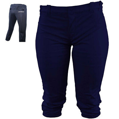 Combat Girl's Youth Fastpitch Softball Pant - Navy - Small
